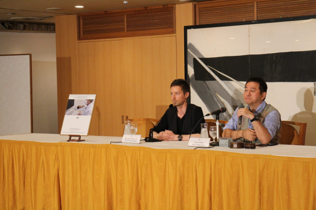 'A2' preview screening and press conference held at the Foreign Correspondents' Club of Japan