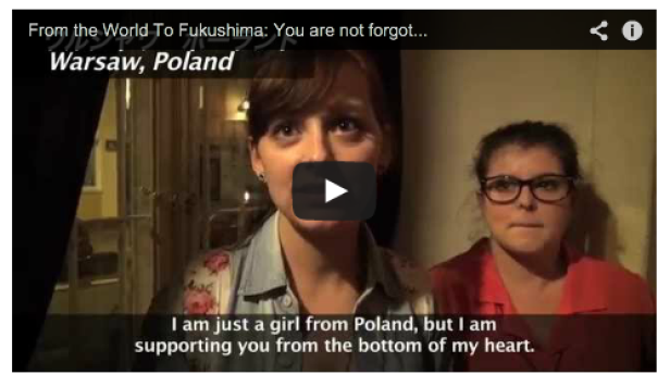 Video Messages for Fukushima on Children's Day