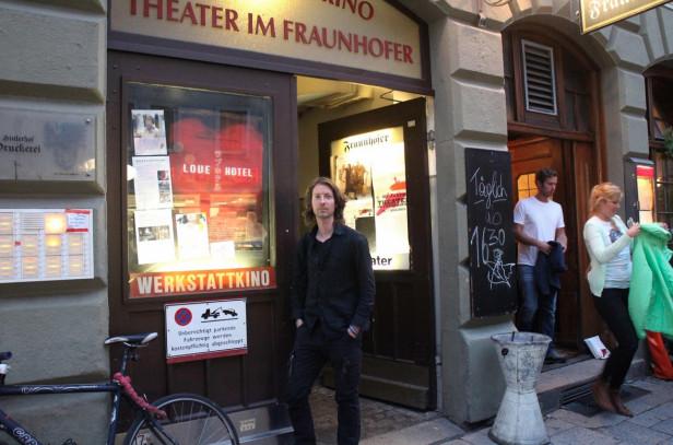 Ian's films screen in Munich