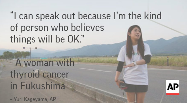 AP publishes article about young thyroid cancer patient in Fukushima