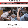 """Dying at Home"" to be re-broadcast globally on Oct 30"