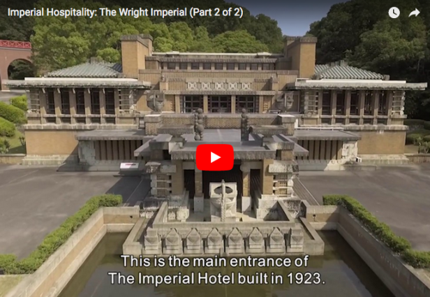 Part 2 of doc on FLW Imperial Hotel published