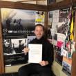 "David Plath Media Award commendation for ""Sending Off"""